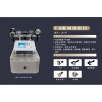 V8 Engraved Cavitation Slimming Machine(Five Handles)