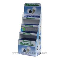 Free Standing Corrugated Cardboard Display Stands