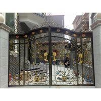 Entrance wrought iron gate thumbnail image