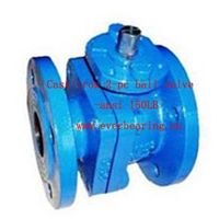 Cast Iron 2-PC Ball Valve-150LB