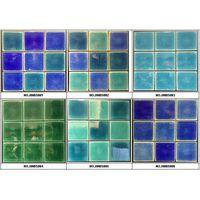 98x98mm Ice crackled glazed pool tiles thumbnail image