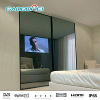 "Gaobomei 47"" TV Mirror 1080p Magic Mirror TV Display Smart Android Interactive Mirror Television"
