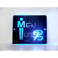 Led Light Toilet/Washroom/Rest Room Sign