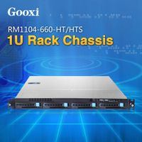 1U Server 4 bays Chassis Case Gooxi RM1104-660-HT/HTS rackmount EEB / CEB / ATX / Micro ATX