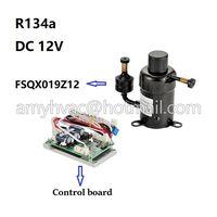 R134a mini dc compressor 12v FSQX019Z12 for portable water chiller thumbnail image