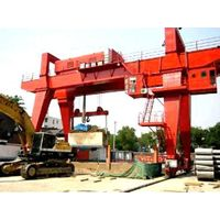 Double Girder Gantry Crane with Hook for Project thumbnail image