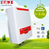 SAJ Rooftop Single phase 1 MPPT On-grid solar inverter 1500W for solar rooftops