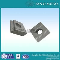 Forged metal parts spring rail clips stamped steel railway fixing drop forged rail clips thumbnail image