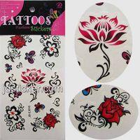 color body tattoo sticker,promotion tattoo stickers, water transfer tattoo sticker