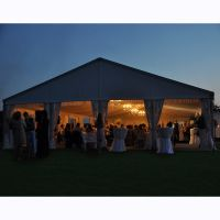 1010m large PVC waterproof event wedding pagoda marquee tent thumbnail image
