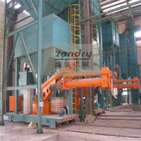 professional supplier of resin sand reclamation and molding production line