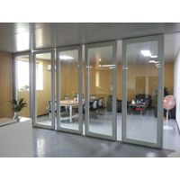 office glass partition,glass operable wall