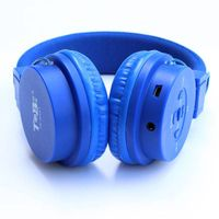 Supper bass rechargeable TF card FM Radio dual rail tie rod headphones for music player
