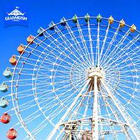 China Hot Sale Used Ferris Wheel Amusement Family Ride LED Light Wheel Ferris thumbnail image