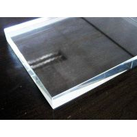19 mm tempered glass/low iron glass