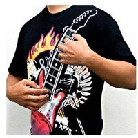 Electronic Rock Guitar T-shirt thumbnail image