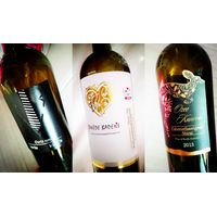 custom adhesive labels for wine&spirits