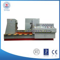 JWZ-type clamping valve test bench
