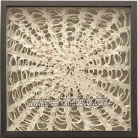 Framed paper wall art 90418
