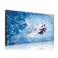 3x3 55inch Narrow Frame LCD Video Wall Prices with WIFI/3G/HDMI/VGA input