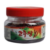 Boseong Young Ae Kim_Handmade Hot Pepper Paste made of Organic Green tea 400g in South Korea