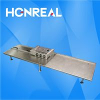 PCB Separator with multi blades cut board into straight strips PCB cutting machine