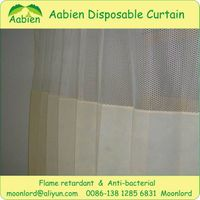 Hospital disposable curtain with SGS