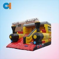 Inflatable Train Slide, Inflatable Pinocchio Slides