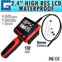 "VID-9 2.4"" LCD Video Inspection Borescope Endoscope 4 LED Lights"