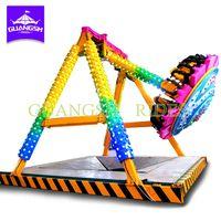 New Design Amusement Park Small mini pendulum swing hammer Ride For Sale thumbnail image