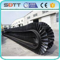 Large Angle Corrugated Sidewall Conveyor Belt