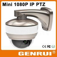 GENRUI ONVIF 2 Megapixel Mini PTZ IP Camera with 10x Optical Zoom thumbnail image