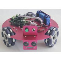 KR0008 3WD Omni Wheel Starter Mobile Robot Kit