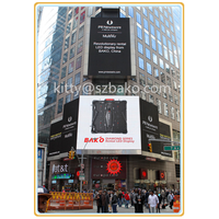 Diamond series outdoor rental LED Display in Time Square
