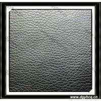 Dongguan Yuhua high quality embossed pu microfiber leather  wholesale  for leather bag leather shoes