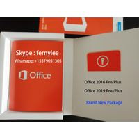 New Office 2016 HS/Pro/Plus Coa Sticker 100%Online Activated Product Package