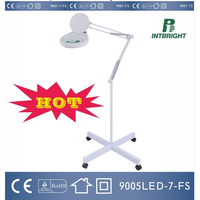 Dimmable LED 5D Magnifying Beauty and Floor Lamp thumbnail image