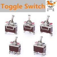 Lema plastic housing toggle switch