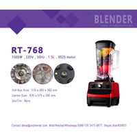 HUI JIA RT-768 Powerful 1800W health electric blender