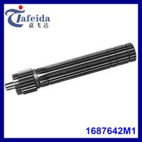Main Shaft for MF Agricultural Tractor, Transmission Components, 1687642M1, 18 / 22 Splines