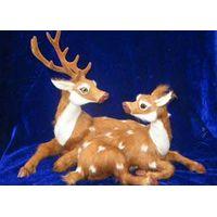 synthetic fur animal decoration, fur animal model decoration and gifts, Crafts Gifts, Gift Items thumbnail image