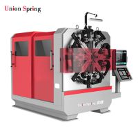 China Motorcycle brake CNC spring forming machine Good price and good quality