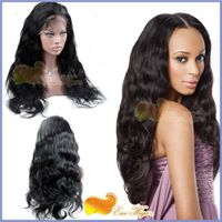 Wigs For Black Women Glueless Full Lace Wigs 100% Human Hair Brazilian Remy Hair Wig Pretty Body Wav thumbnail image
