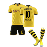 Football training suit leisure sports suit shorts simple color matching sportswear football suit thumbnail image