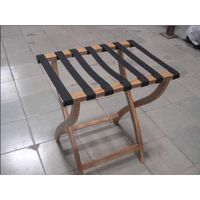 Direct solid wood frame Hotel wooden rack room supplies