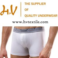 Cotton and spandex stretchy underwear shorts