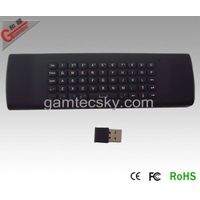 2.4G Remote  Keyboard  Air mouse(Gyro) Control 3in1 thumbnail image