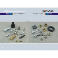 Mechanical hardware fastener nuts and screws