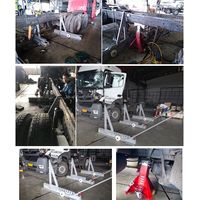 truck chassis straightening equipment,heavy duty straightening systems