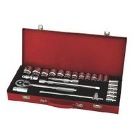 "24pc-1/2"" hand tool socket set"